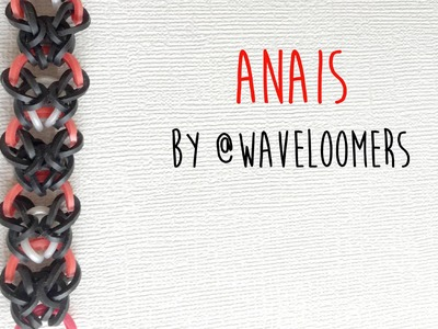 Rainbow Loom Bands Anais by @WaveLoomers