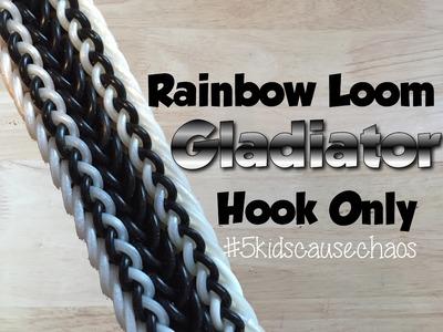 Rainbow Loom Gladiator (hook only) Bracelet