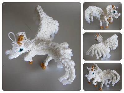 Rainbow Loom horse unicorn pegasus alicorn Part 2.2 Loombicious