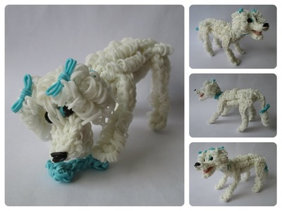Rainbow Loom  poodle Part 1.3 Loombicious