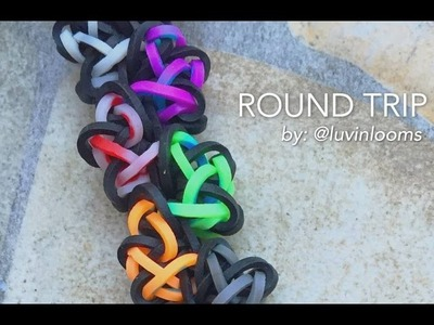 ROUND TRIP Hook Only bracelet tutorial