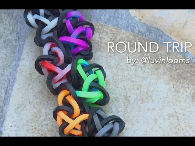 ROUND TRIP Hook Only bracelet tutorial
