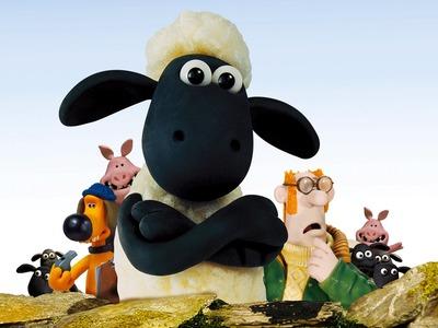 SHAUN THE SHEEP! DIY: Handmade Craft Figures Featuring: Shaun, Farmer, Dog (Bitzer), & Pig