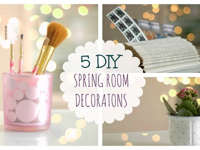 Spring decorating ideas♥.Fast&Easy