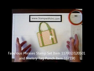Stamp with Jini BON VOYAGE POST IT NOTE HOLDER by Jini Merck