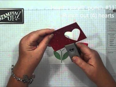 Sweet Valentine card with Dawn