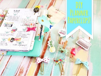 The Planner Society DYI Paper Clips for your Planner {Christy Tomlinson }