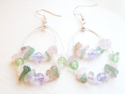 Think Spring Earrings Tutorial | eclecticdesigns