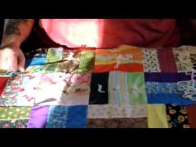 Tied Quilt Part  Two FINALLY
