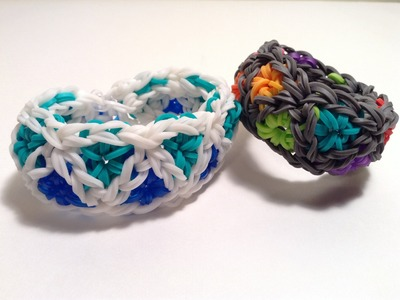 Triangle Burst Bracelet tutorial