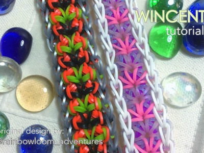 WINCENT Rainbow Loom bracelet tutorial