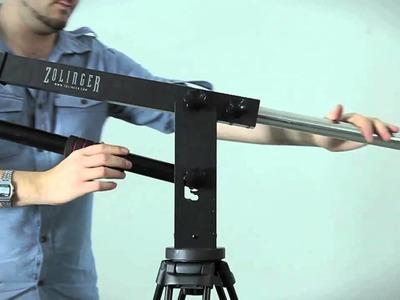 Zolinger ZP1500 Jib. camera crane tutorial. www.zolinger.com