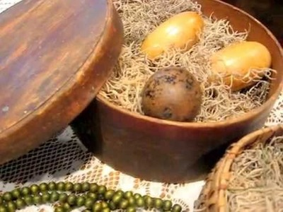 Antique Easter Ideas for Display