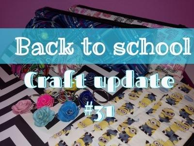 Back to school craft update!