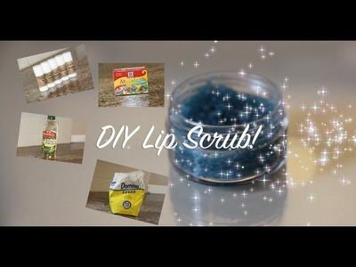 DIY Lip Scrub! LUSH Inspired
