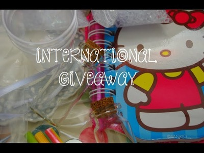 ♥ Free International Craft Giveaway 2014 ♥ ~ {CLOSED}