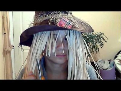 Halloween Costume Tutorial - Scarecrow Hair