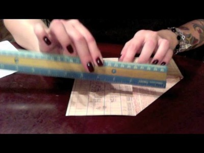 How to make a Paper Pocket for your Planner!