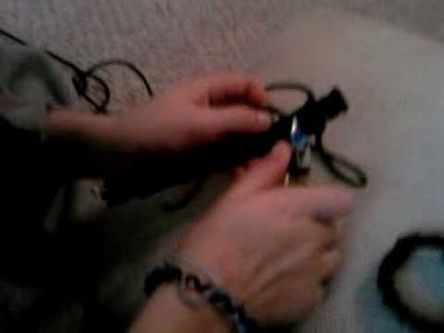 How To Make a Paracord Bracelet Part 2