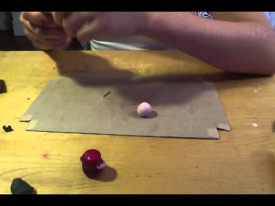 How to make a polymer clay little person.