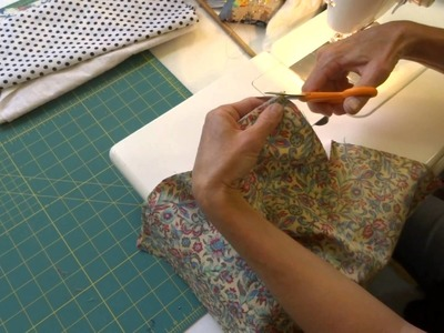 How to make cloth napkins. simple sewing project