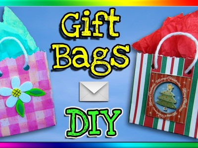 How To Make Gift Bags Out of Envelopes