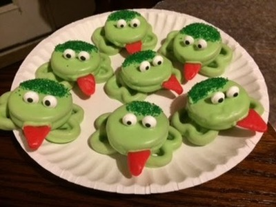 How to Make: Oreo frogs