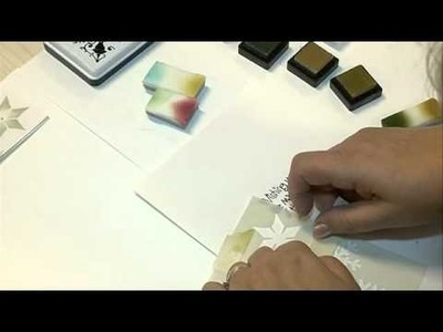 How to stencil on paper ? Made by PRONTY