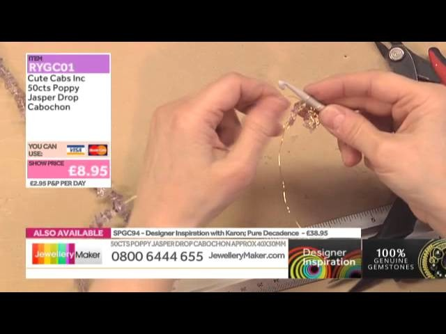 Learn How to Make Wirework Necklaces [Tutorial]: Jewellery Maker DI 11.01.15