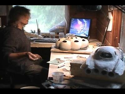 Paper clay tutorial Building a Spaceship.wmv