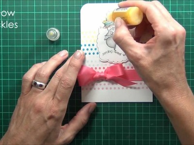 Partial Die Cutting at Topical Tuesdays - AnnaBelle Stamps!