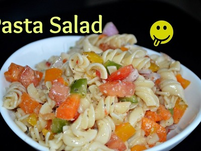 Pasta Salad Healthy Cold Resolution Recipe by Chawla's Kitchen Epsd. #275