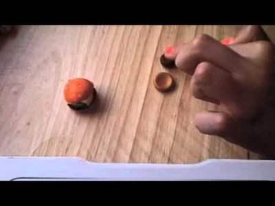Polymer Clay Cheeseburger Tutorial my 1st clay tutorial :)
