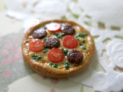 Polymer Clay Pizza Tutorial