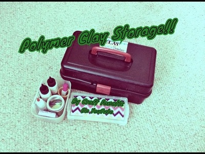 Polymer Clay Storage Ideas  ❤️❤️❤️ My Clay Storage