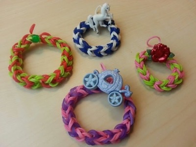 RAINBOW LOOM WREATH - How to Make