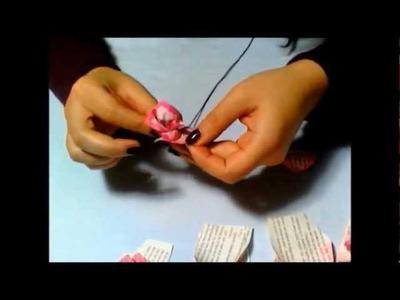 Tutorial Rosa di Carta - Seconda parte ♥ Paper Rose - II part