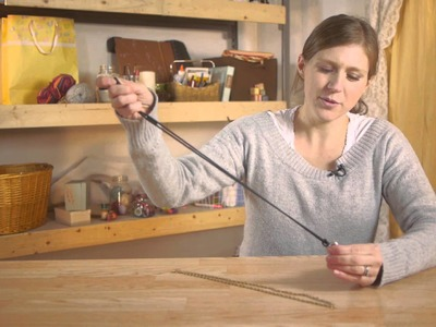 Tying a Ring to a Necklace : Craft Time!