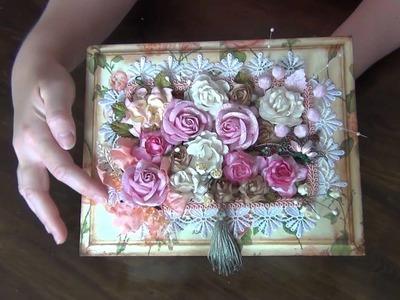 WOC DT Project - Rose Garden Jewellery Box