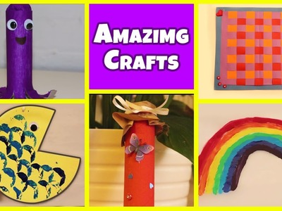 Amazing Arts and Crafts Collection 3 | Easy DIY Tutorials | Kids Home decor Tips
