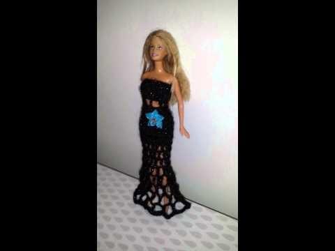 Barbie fashion . tejido a crochet