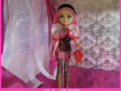 Como hacer una recamara para muñeca- Ever After High dolls collection- Manualidades