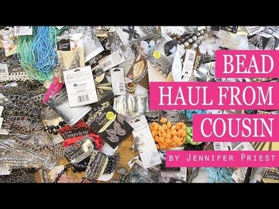 Cousin Bead Haul Unboxing and Giveaway