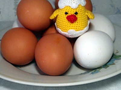 Create a Cute Crochet Chicken in Its Shell - DIY Crafts - Guidecentral