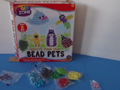 Create Your Own Bead Pets Craft & Activity Kit by Color Zone