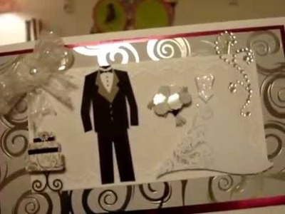DIY:  Congratulations Wedding Card