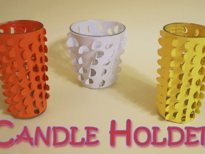DIY Crafts: Candle holder (Very Easy)- Ana | DIY Crafts