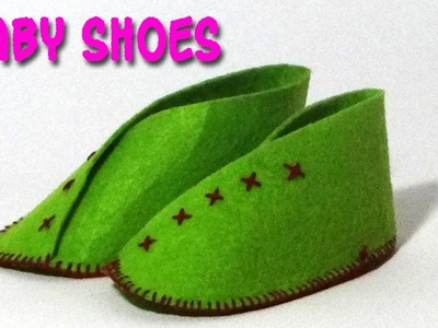 DIY Crafts - Making of Baby Shoes