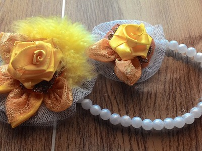 DIY crafts tutorials - create a beautiful brooch