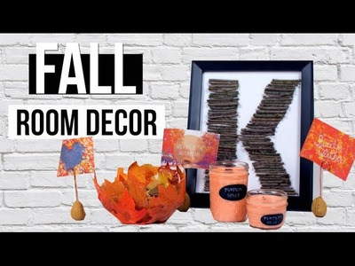 DIY Fall ROOM DECOR 2015! Pinterest Inspired
